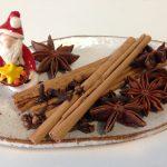 クリスマスのスパイス&アロマ飾り