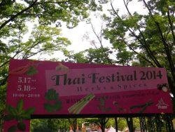 タイフェスティバル代々木公園に行ってきました!