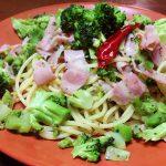 【レシピ】ブロッコリーを存分に味わう!野菜のパスタ!