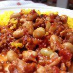 【レシピ】大豆たっぷり!ターメリックライスとチリコンカン♪