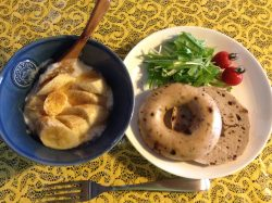 朝食にスパイス・ハーブを足して、ほんのり豪華な朝に・・・☆