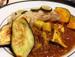 ひき肉と茄子のカレー|簡単、本格カレースパイス