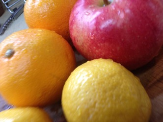サングリア 果物