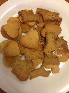 ナツメグと紅茶のクッキー