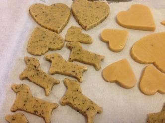 ナツメグと紅茶のクッキー 生地